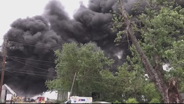 10Listens: Will the massive fire at a Knoxville recycling center impact the air or my health?