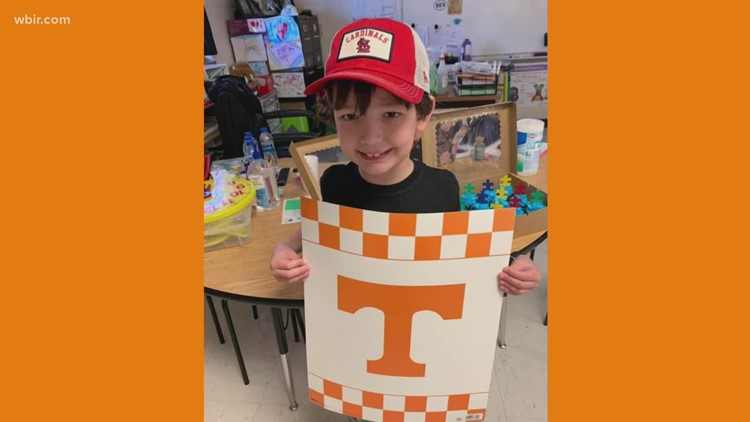 Georgia first-grader receives support from Vol Nation