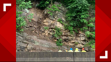 All lanes back open after rockslide closes I-40 W in NC near Tennessee state line