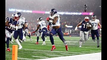 Titans stun Patriots 20-13 in wild-card upset