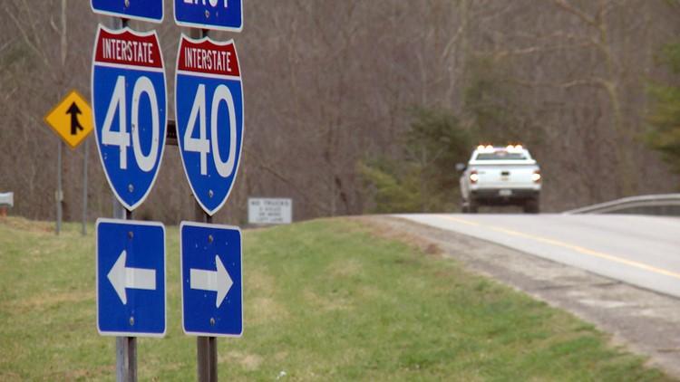 Interstate 40 Harmon Den Exit