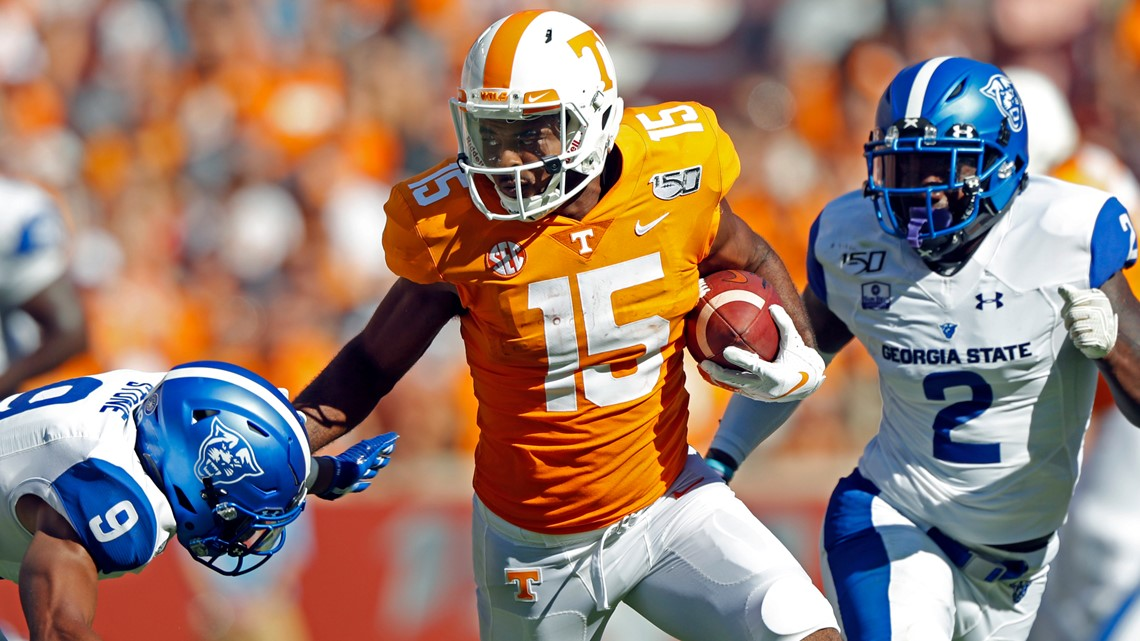 """Vols WR Jennings """"ready to go out there and ball"""" Saturday in The Swamp"""