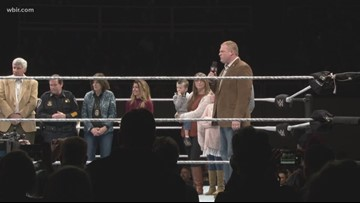 WWE rolls into downtown Knoxville