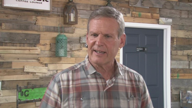 Governor Bill Lee encourages people to get COVID-19 vaccine