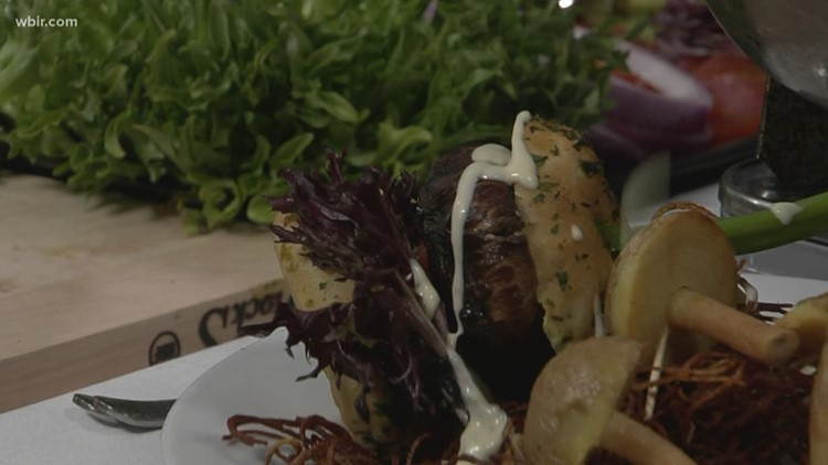 In the Kitchen: Portobello slider poppers