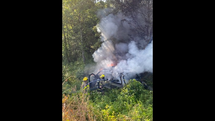 Rural Metro Fire: Car catches on fire on Strawberry Plains Pike