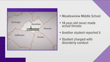 Meadowview Middle student charged after bringing airsoft gun to school, Morristown PD says