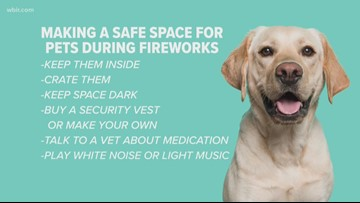 Protecting your pets during the fireworks