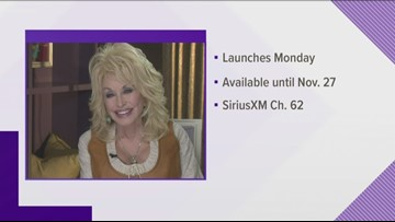 You can now listen to Dolly Parton's music on a special SiriusXM channel