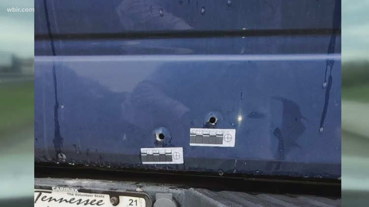 Knoxville man still has a bullet in his shoulder after road rage incident & no one has been arrested
