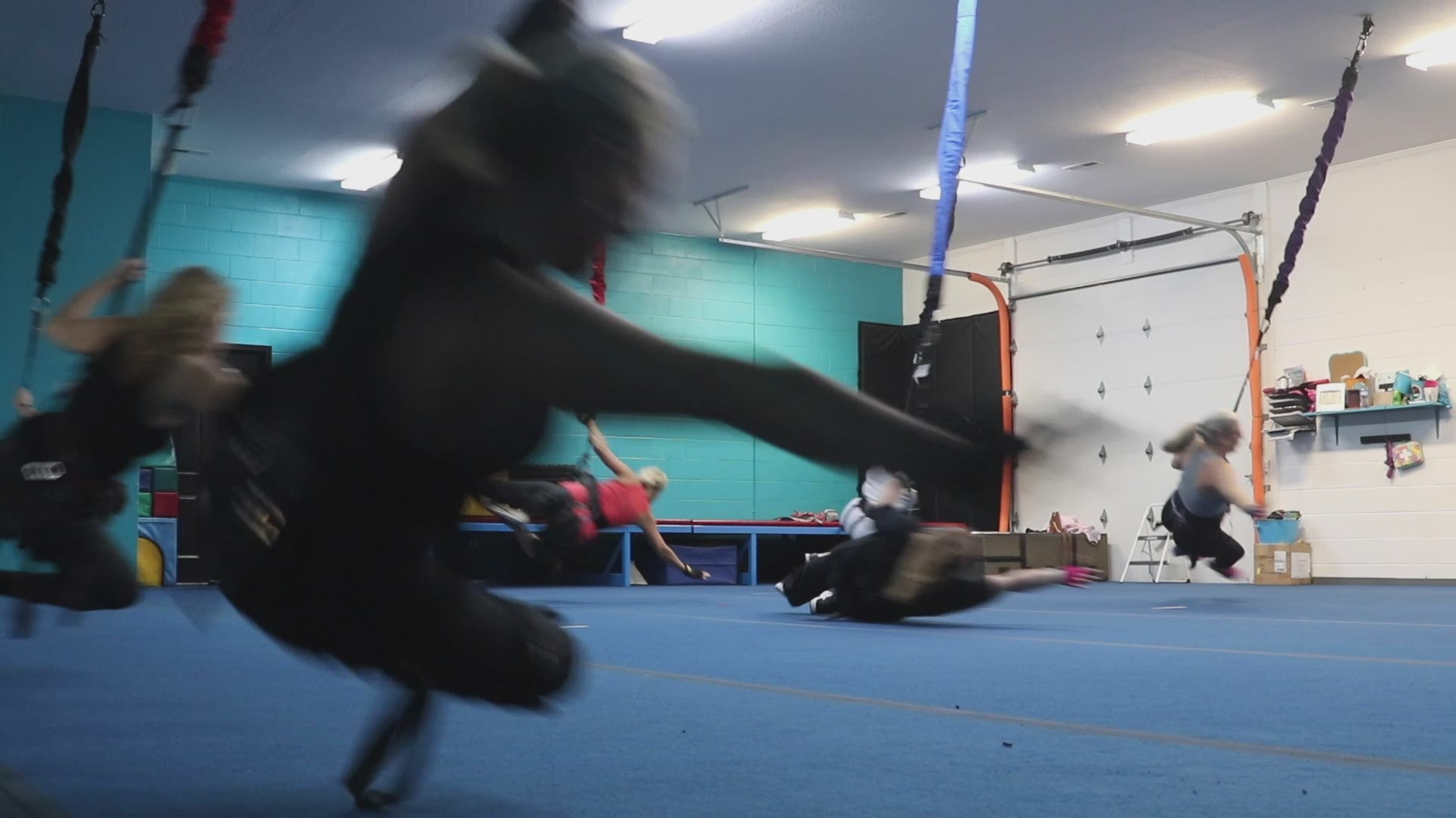 Bungee Dance Is The New High Flying Workout You Need In Your Life This Winter Wbir Com