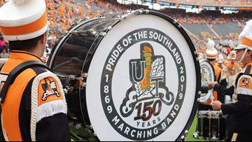 Father-son drum major duo  will take the field for the Pride of the Southland Band's 150th anniversary