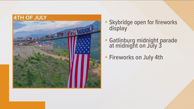 Rockets' red glare: East TN communities plan Independence Day fireworks