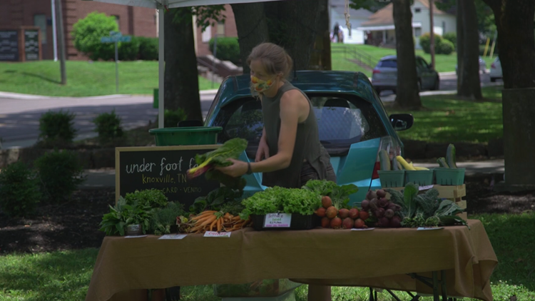Eat local and healthy! Eastside Sunday Market brings fresh produce to East Knoxville