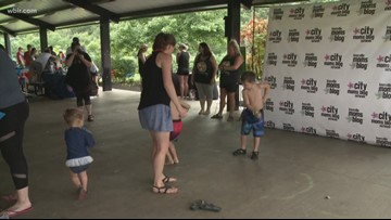 Knoxville Moms Blog hosts Beat the Heat event