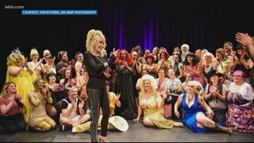 Dolly Parton makes surprise appearance at Fourth Annual Smoky Mountain Burlesque Festival