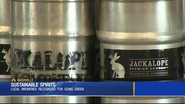 Tennessee breweries going green
