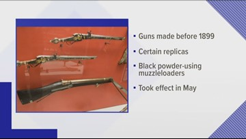 New Tennessee law allows felons to own antique guns