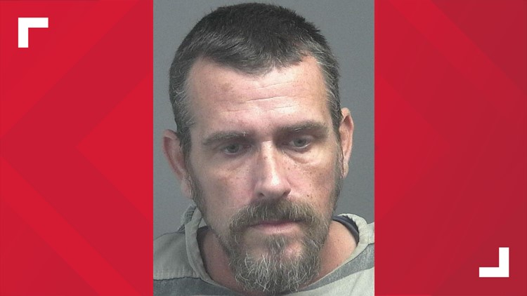 Kevin L. Catlett's mugshot in Blount County Jail.