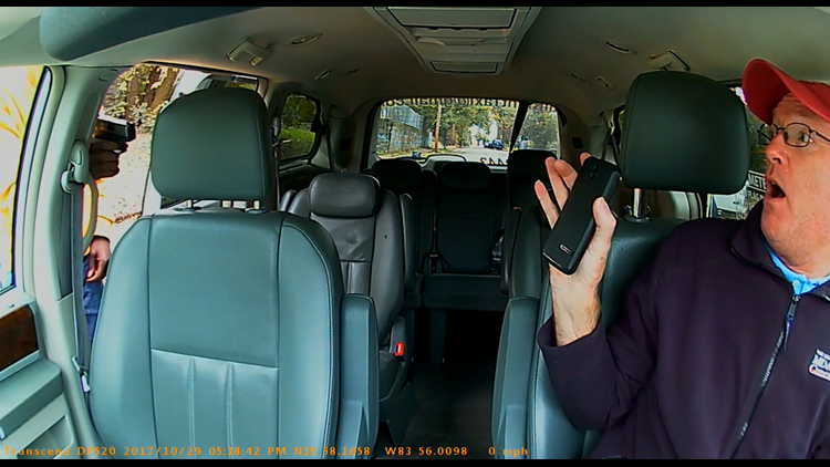 """""""You see that bullet in there?"""" 
