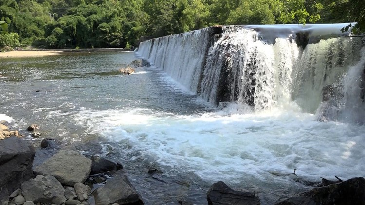 Peery's Mill Dam Blount County Little River Tennessee Walland