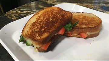 Over the Top Grilled Cheese