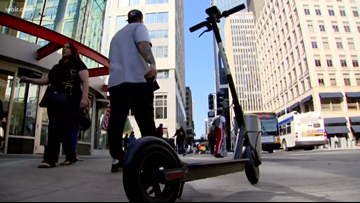 Electric scooter pilot program launches in Knoxville