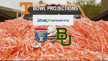 Vols bowl projections with two games left
