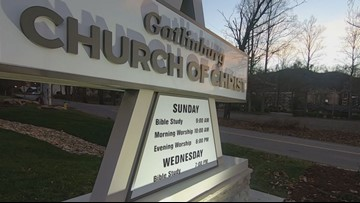 'It just means so much to be able to have a home again' | Gatlinburg church reopens 3 years after the wildfires