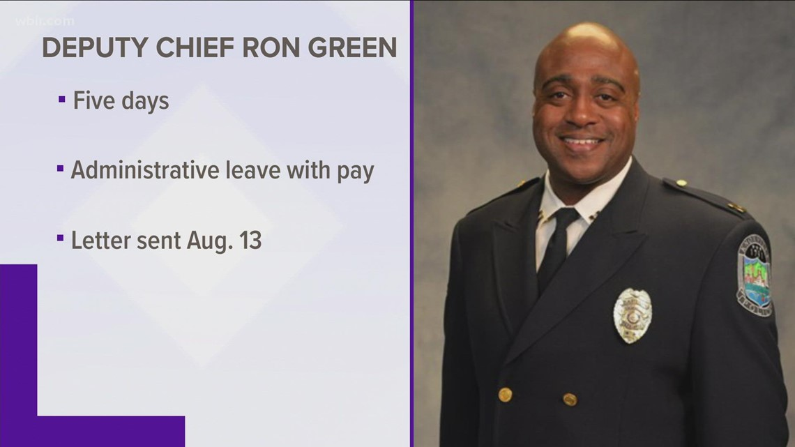 KPD suspends deputy chief without explanation