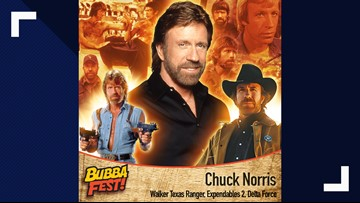 Chuck Norris coming to Knoxville for Bubba Fest
