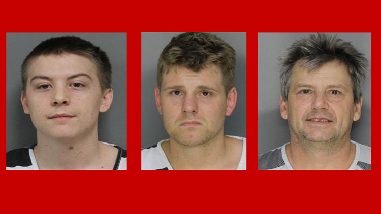 3 arrested during historic Dandridge drug bust
