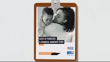 United Way report shows 39% of Tennesseans struggle to make ends meet
