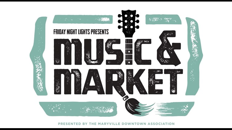 Music & Market event brings live performances, craft vendors and more to Downtown Maryville
