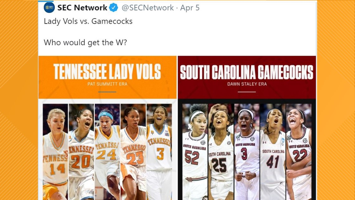 LeBron James backs Lady Vols in dream team matchup posed by SEC Network