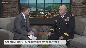 Tennessee's Adjutant General, Major General Max Haston, is retiring
