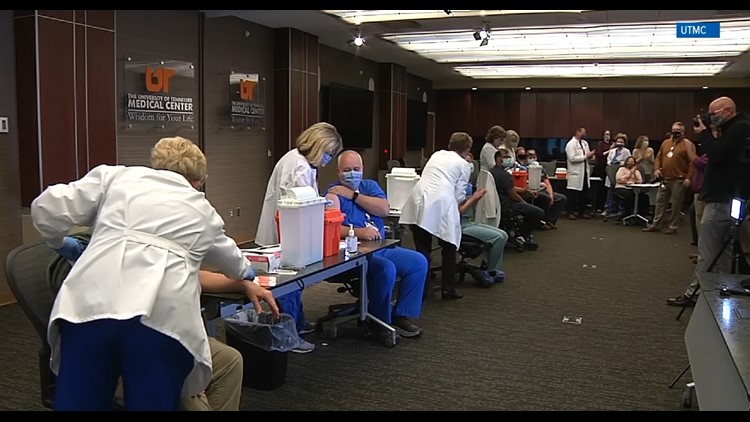 UT Medical Center administers 50,000 total COVID-19 vaccines