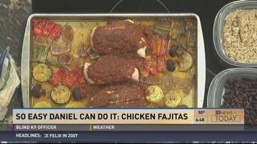 So Easy, Daniel Could Do It: Chicken Fajitas