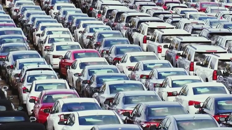 Prices to rent a car are soaring