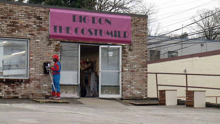 Big Don The Costumier Storefront Spider-Man