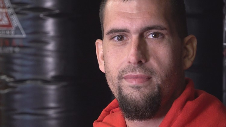 Fighter finds a second chance after lifetime fighting on streets and serving time in jail