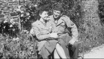 Tennessee veteran's WWII romance becomes the inspiration for a new short film