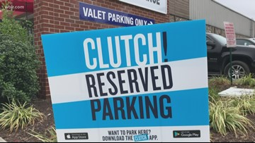New app lets you reserve Vols parking online