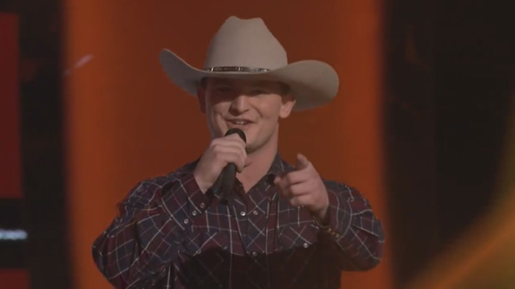 'Chase your dreams'   Morgan County's Ethan Lively competing on the Voice