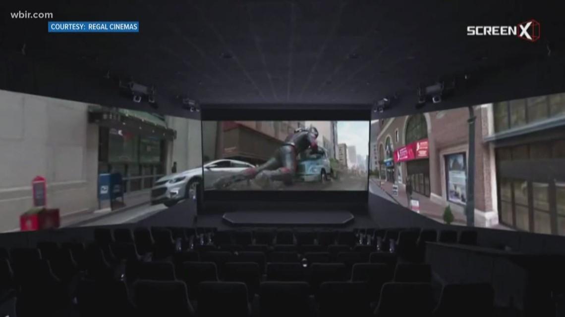 Ut Health Center >> ScreenX coming soon to Regal Cinemas | wbir.com