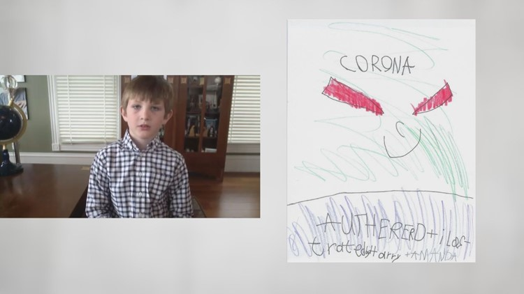 10 Rising Hearts: Boy donates proceeds from a comic book he made called Corona