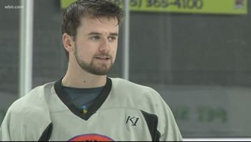 Knoxville Ice Bears player Anthony McVeigh talks hockey, team bonding