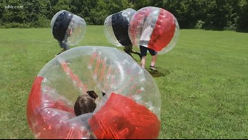 Knockerball comes to East Tennessee