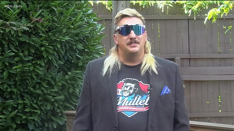 Business in the front, party in the back: Tennessee man has the best mullet in the country