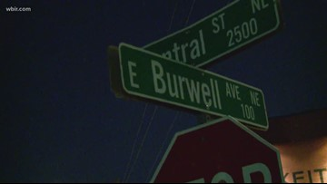 A mother with her two children attacked in Knoxville